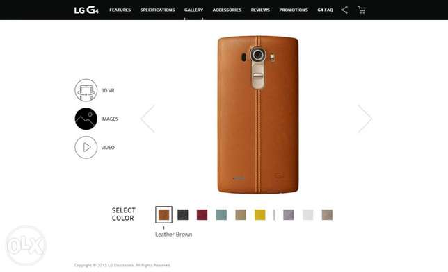 LG G4 Leather Back Cover - Brown Kasarani - image 5