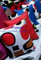 Throw pillows/cushions/cormforters