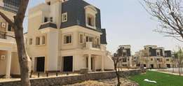 Villa type A in chillout park ,amazing price & installments for 1 year