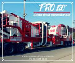 FABO PRO 120 Mobile Full Automatic Crusher Plant