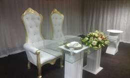 wedding decor,events hire,catering,draping &equipment hiring.stretch t