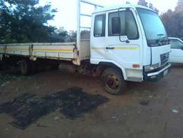Bakkie and 6 tonne UD for hire