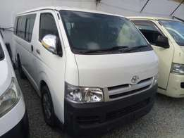 Toyota hiace manual