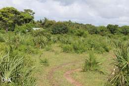 An very ideal 1/4 acre plot in Mtwapa for only 15million
