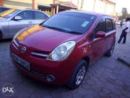 Nissan Note KCA red