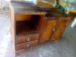 Blackwood and imbuia ball and claw sideboard