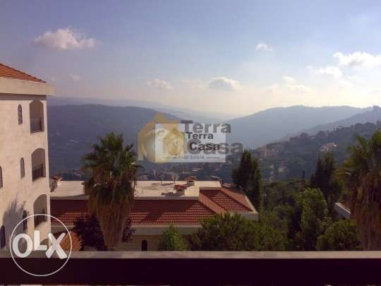 ouyoun broumana apartment open view for rent Ref # 104