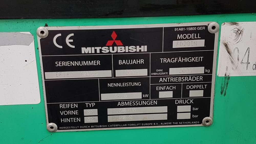 Mitsubishi FD20CN - image 16