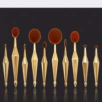 Diamond edition Oval makeup Brushes