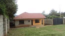 A three bedroom house for rent in Kibiko