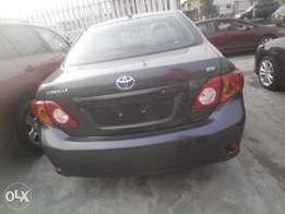 newly imported 2009,toyota corolla,very neat,accident free