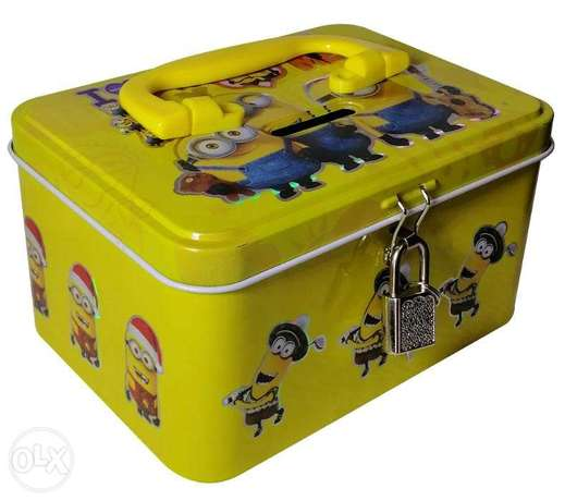 Brand New Cuboid Money Box - Despicable Me