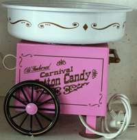 Old Fashioned Carnival Cotton Candy Floss Machine S023853C