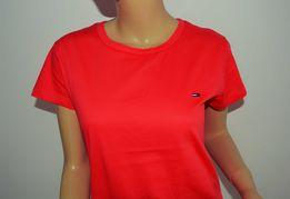 bea9f8b01 Koszulka T-shirt Tommy Hilfiger damska XS S M L różne rozmiary unikat