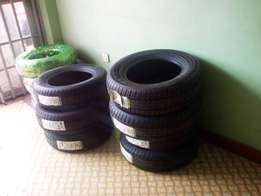 New stock of tyres