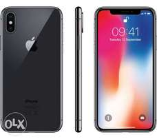 Apple iPhone X [64GB] Silver/Space gray,BrandNEW& Sealed,Free delivery