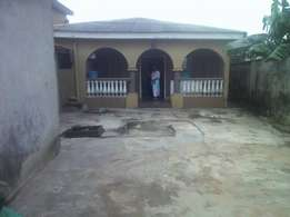 Four bedroom bungalow at Igando