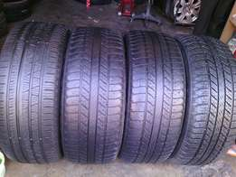 265/60/R18 on special for sale each tyre is R650 in a good condition