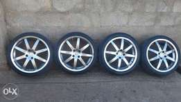 17inch rims an tyres