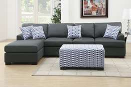 Maidas grey couch. Made on order.