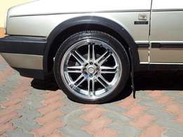 17 inch Lenso rims and tyres for sale
