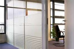 Aluminium and gypsum partitions at affordable prices