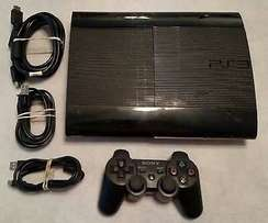 Sony Playstation 3 Super Slim with 8 latest games bundle