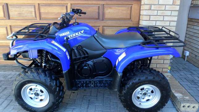 Yamaha Grizzly 660 utility quad,As New condition.Only 1750kms. Centurion - image 2