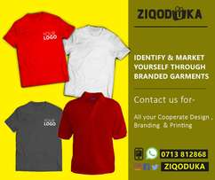 Corporate Branding,printing of t-shirts and shirts