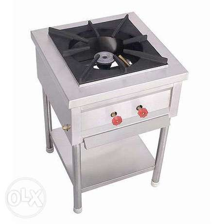 Gas stove single double