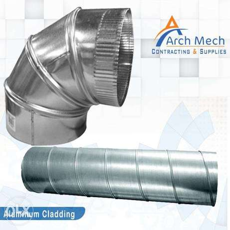 Duct Work Aluminum Cladding HVAC