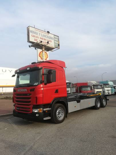 Transport SCANIA 26.480 - 2011