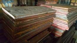 Shutter boards 1.2m x 450mm for sale