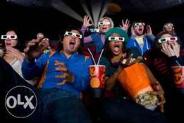 Come watch 3D movies at MasterFlix Entertainment