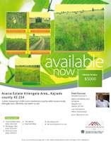 BANK AUCTION 0.098 Acre for sale at Acacia Kitengela