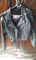 old leather biker jacket swap for pool table