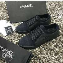 Black Chanel shoe for fashion