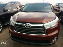 Toyota Highlander Limited Edition 2015 model