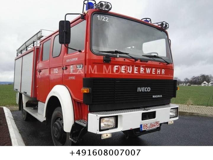 Iveco Magirus 120-19 AW , TLF 16u002F25, Tank 2500 L - 1986