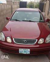 2002 LEXUS GS 300 (Nigeria used) clean and in a good condition.