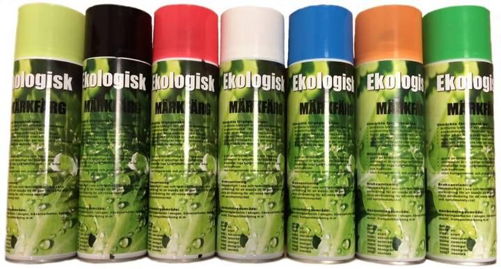 Fluorescerande Miljövänlig Märkfärg