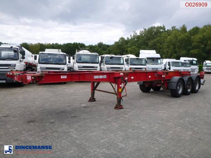 Montracon Container trailer 30-40-45 ft - 2008