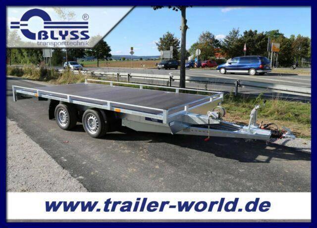 Blyss AKTION! Fahrzeugtransporter 406x198cm 2,7t. GG