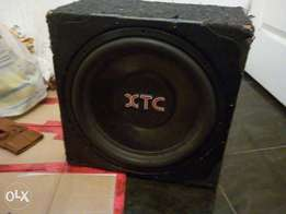 15inch XTC 4000watts DVC Sub for sale