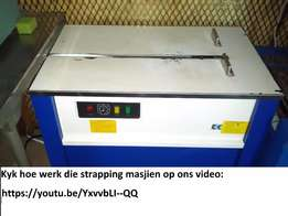 Strapping Machine ideally for 15 dozyn egg cases.Good condition