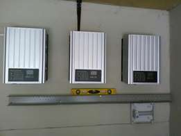 Solar and electrical installation