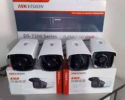 Full 4 Camera Package Plus Installation