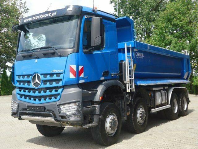 Mercedes-Benz AROCS 4142 8x8 EURO6 Muldenkipper Carnehl TOP! - 2016