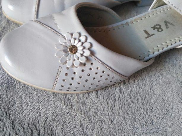 421a7c8c62708 Piękne BUTY KOMUNIJNE rozmiar 31 (19-20cm) dziewczęce białe Jelenia Góra -  image