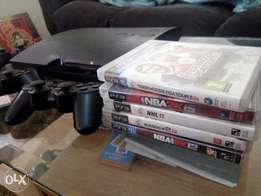 PS3 320GB QUICK SALE 4 controllers 5 games